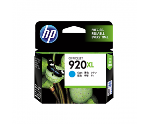HP CD972AA 920XL Cyan Genuine Original Printer Ink Cartridge