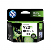 HP CD975AA 920XL Black Genuine Original Printer Ink Cartridge
