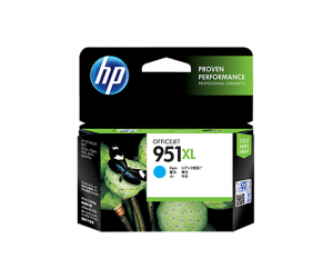 HP CN046AA 951XL Cyan Genuine Original Printer Ink Cartridge