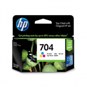 HP CN693AA 704 Tri-Colour Genuine Original Printer Ink Cartridge