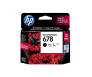 HP CZ107AA 678 Black Genuine Original Printer Ink Cartridge