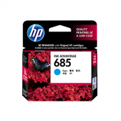 HP CZ122AA 685 Cyan Genuine Original Printer Ink Cartridge