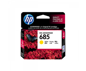 HP CZ124AA 685 Yellow Genuine Original Printer Ink Cartridge