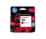 HP CZ637AA 46 Black Genuine Original Printer Ink Cartridge