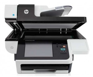 HP ScanJet Enterprise 8500 fn1 Document Capture Workstation Scanner