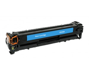 TonerGreen CB541A 125A Cyan Compatible Printer Toner Cartridge