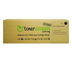 TonerGreen CF283A 83A Black Compatible Printer Toner Cartridge