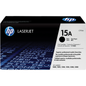 HP C7115A 15A Black Genuine Original Printer Toner Cartridge