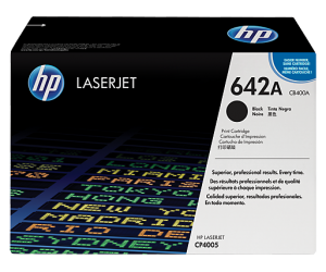 HP CB400A 642A Black Genuine Original Printer Toner Cartridge