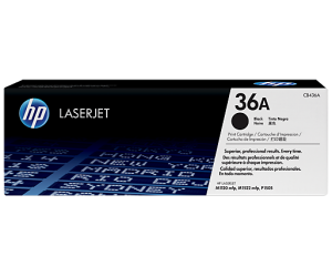 HP CB436A 36A Black Genuine Original Printer Toner Cartridge
