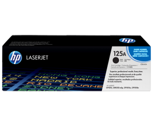 HP CB540A 125A Black Genuine Original Printer Toner Cartridge