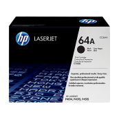 HP CC364A 64A Black Genuine Original Printer Toner Cartridge
