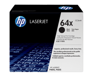HP CC364X 64X Black Genuine Original Printer Toner Cartridge