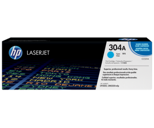 HP CC531A 304A Cyan Genuine Original Printer Toner Cartridge