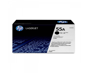 HP CE255A 55A Black Genuine Original Printer Toner Cartridge