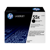 HP CE255X 55X Black Genuine Original Printer Toner Cartridge