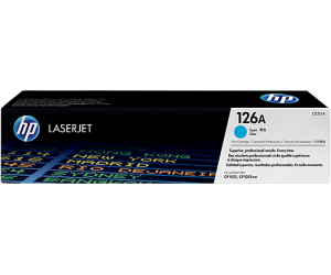 HP CE311A 126A Cyan Genuine Original Printer Toner Cartridge