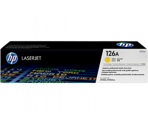 HP CE312A 126A Yellow Genuine Original Printer Toner Cartridge