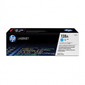 HP CE321A 128A Cyan Genuine Original Printer Toner Cartridge