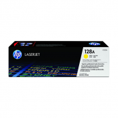 HP CE322A 128A Yellow Genuine Original Printer Toner Cartridge