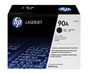 HP CE390A 90A Black Genuine Original Printer Toner Cartridge