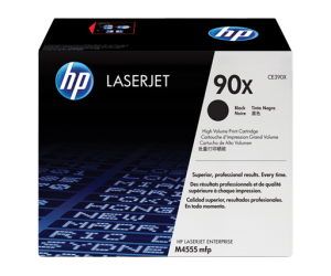 HP CE390X 90X Black Genuine Original Printer Toner Cartridge