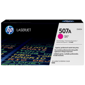 HP CE403A 507A Magenta Genuine Original Printer Toner Cartridge