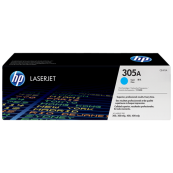 HP CE411A 305A Cyan Genuine Original Printer Toner Cartridge