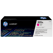 HP CE413A 305A Magenta Genuine Original Printer Toner Cartridge