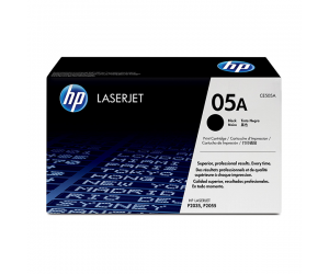 HP CE505A 05A Black Genuine Original Printer Toner Cartridge