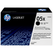 HP CE505X 05X Black Genuine Original Printer Toner Cartridge