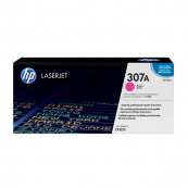 HP CE743A 307A Magenta Genuine Original Printer Toner Cartridge