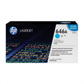 HP CF031A 646A Cyan Genuine Original Printer Toner Cartridge