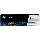 HP CF210X 131X Black Genuine Original Printer Toner Cartridge
