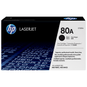 HP CF280A 80A Black Genuine Original Printer Toner Cartridge