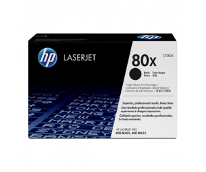 HP CF280X 80X Black Genuine Original Printer Toner Cartridge