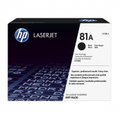 HP CF281A 81A Black Genuine Original Printer Toner Cartridge
