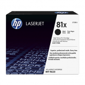 HP CF281X 81X Black Genuine Original Printer Toner Cartridge
