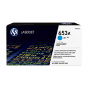 HP CF321A 653A Cyan Genuine Original Printer Toner Cartridge
