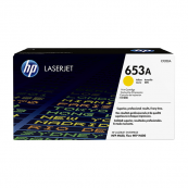 HP CF322A 653A Yellow Genuine Original Printer Toner Cartridge