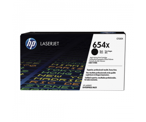 HP CF330X 654X Black Genuine Original Printer Toner Cartridge