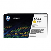 HP CF332A 654A Yellow Genuine Original Printer Toner Cartridge