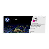 HP CF363X 508X Magenta Genuine Original Printer Toner Cartridge