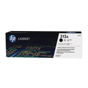 HP CF380A 312A Black Genuine Original Printer Toner Cartridge