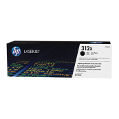 HP CF380X 312X Black Genuine Original Printer Toner Cartridge