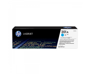 HP CF401A 201A Cyan Genuine Original Printer Toner Cartridge