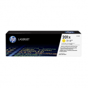 HP CF402X 201X Yellow Genuine Original Printer Toner Cartridge