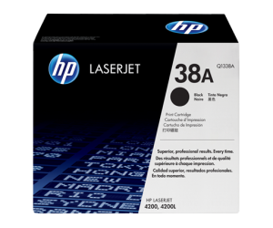 HP Q1338A 38A Black Genuine Original Printer Toner Cartridge
