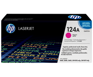 HP Q6003A 124A Magenta Genuine Original Printer Toner Cartridge