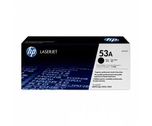 HP Q7553A 53A Black Genuine Original Printer Toner Cartridge
